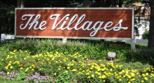 The Villages sign